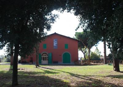 La facciata del Museo prima dell'inaugurazione