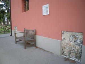 Resti della Torre Vergata su cui è stata costruito il casale che accoglie il Museo Archeologia Per Roma