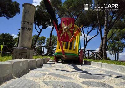 Costruiamo una strada romana - Laboratorio didattico - Museo APR