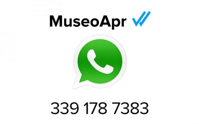 Un museo con Whatsapp? Perchè no?