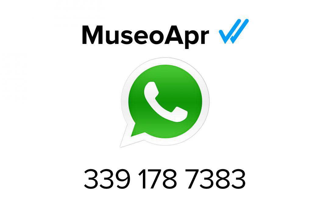 Un museo con Whatsapp? Perchè no?