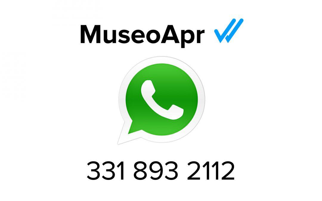 Whatsapp Museo APR?