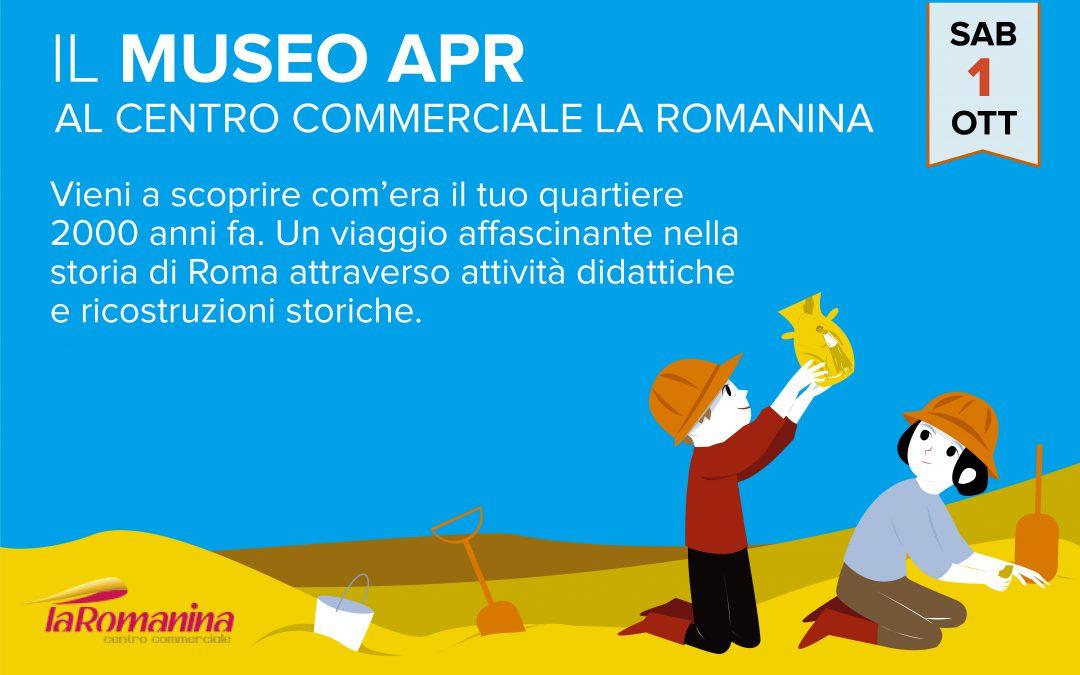 Il Museo APR al Centro Commerciale La Romanina