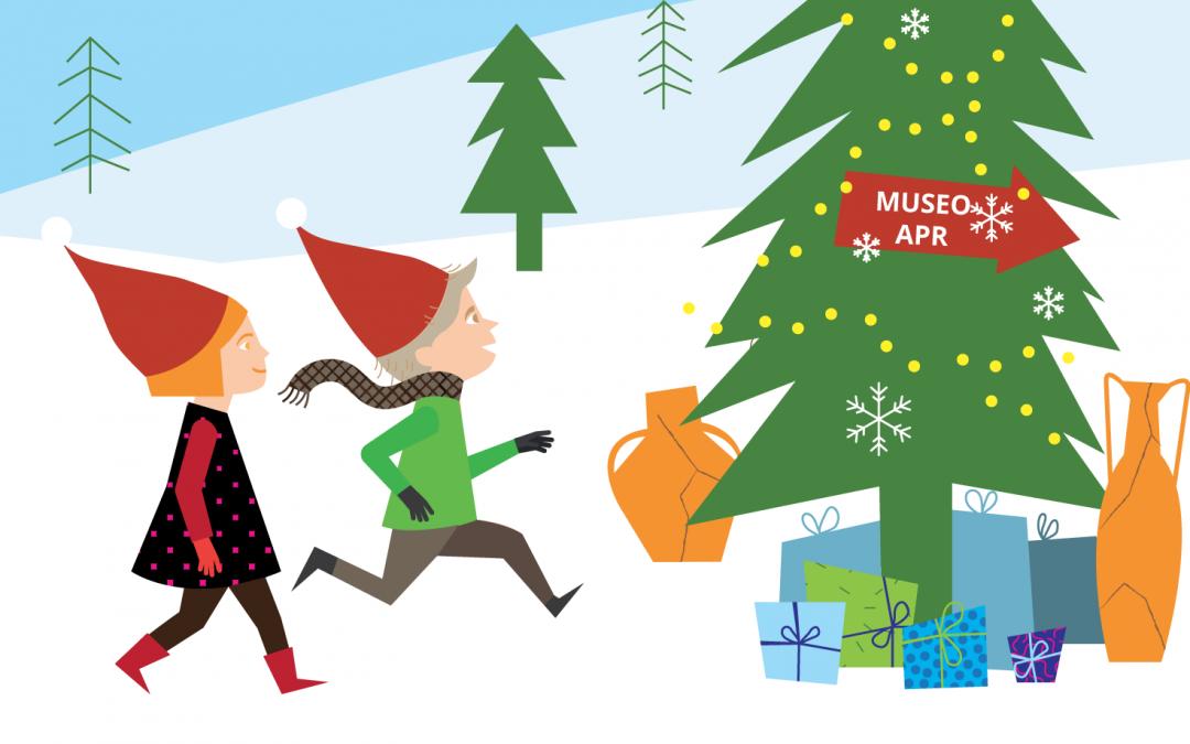 Natale al Museo APR - Illustrazione Arianna Floris