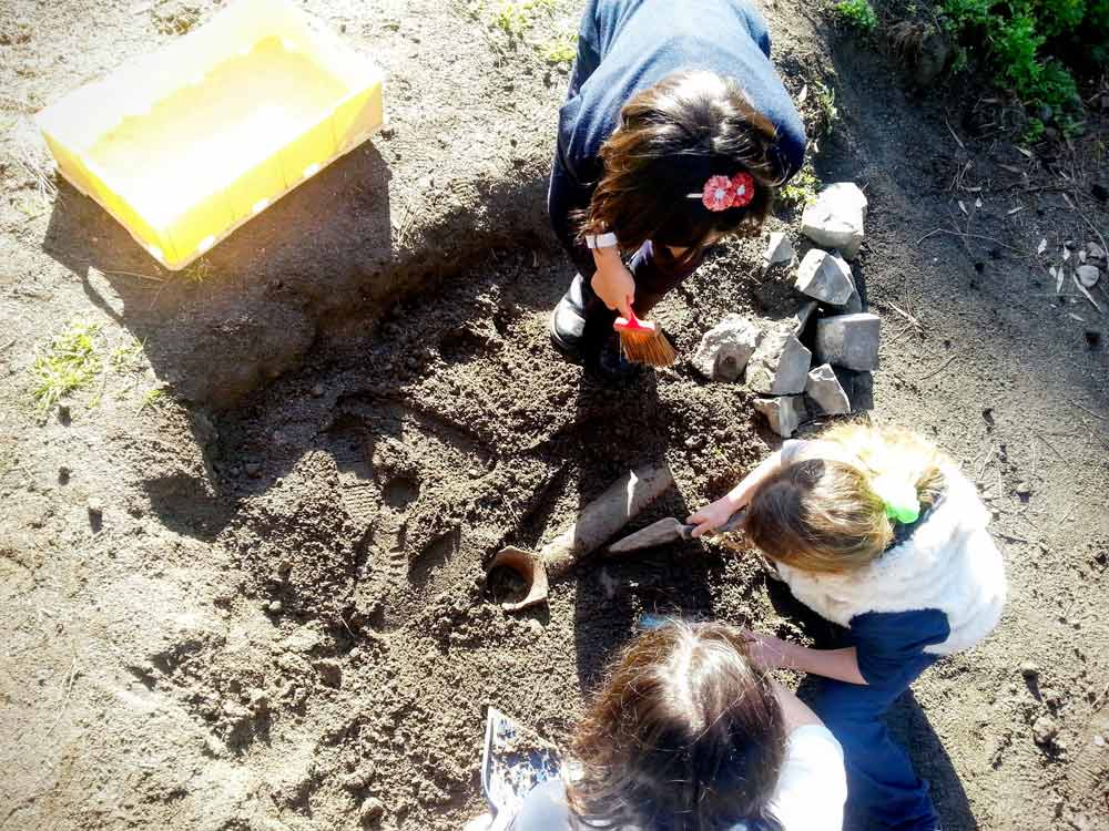 Museo Apr - Lo scavo archeologico - Laboratorio didattico_110158