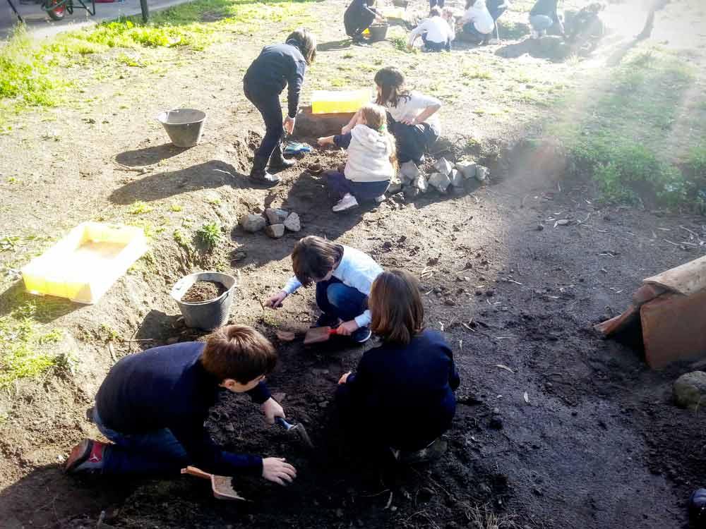 Museo Apr - Lo scavo archeologico - Laboratorio didattico_110312