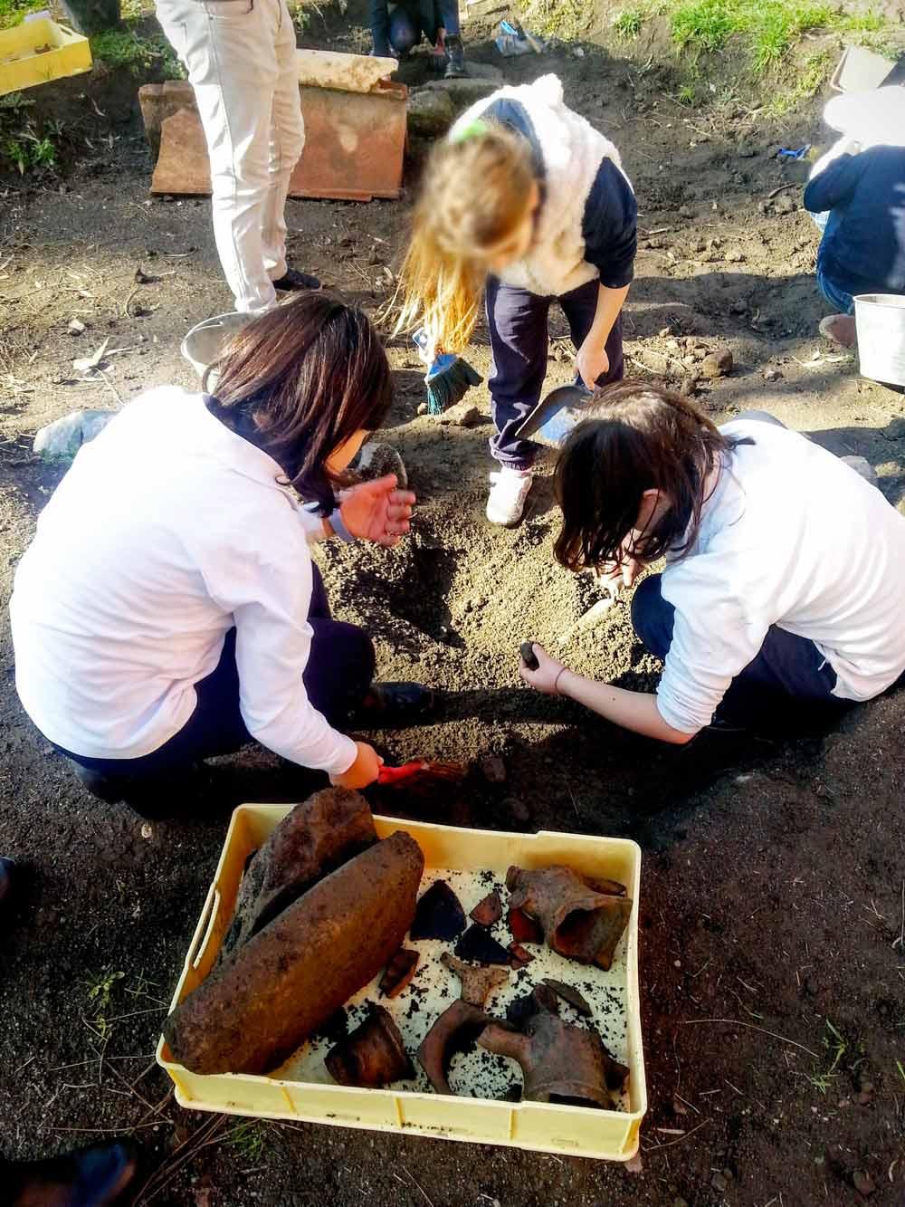 Museo Apr - Lo scavo archeologico - Laboratorio didattico_113537