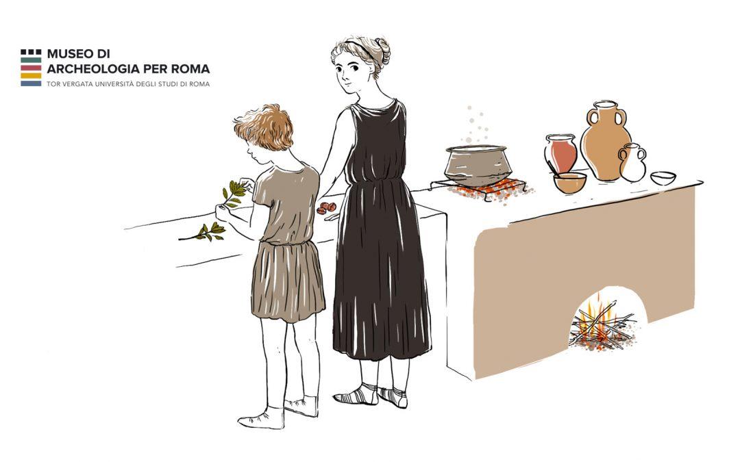 La cucina degli antichi romani